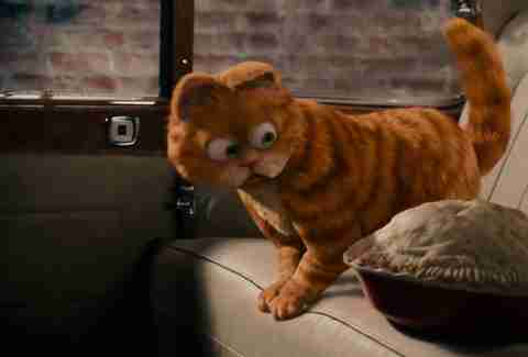 Garfield, CGI Animals, Pie, Cat