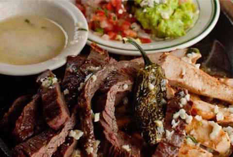 El Real Tex-Mex Cafe steak chicken guac thrillist