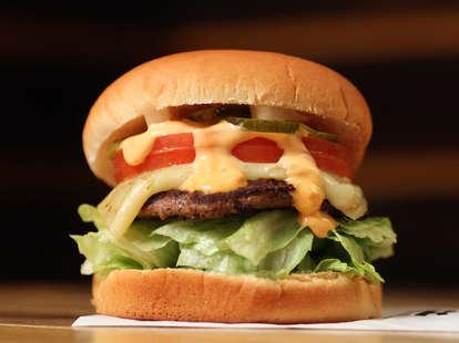 secret burger at M Burger