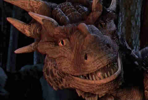 Dragonheart, dragon, CGI Animals