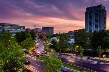 Towson, MD skyline