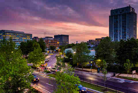 Towson, MD skyline