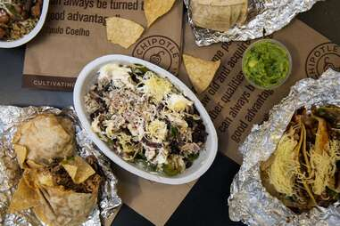 Chipotle burrito bowl, Every State's Greatest Culinary Gift to America