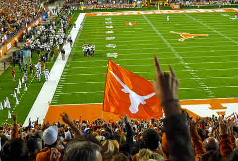 texas football game