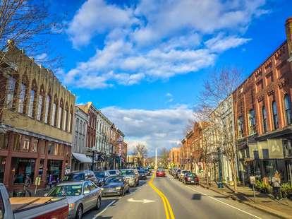 Downtown in Franklin, TN