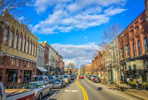 Downtown in Franklin, TN