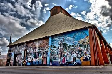New Braunfels, TX mural
