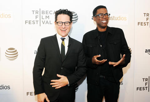 j.j. abrams and chris rock tribeca talk