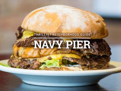 burger in navy pier