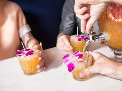 Cocktails at Backbeat