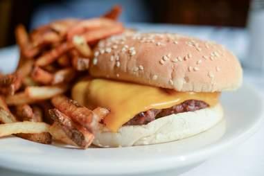 Walker's Bar, burgers, cheeseburger
