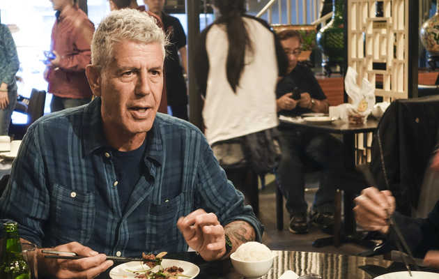 Anthony Bourdain Tells Us His Favorite Chicago Spots