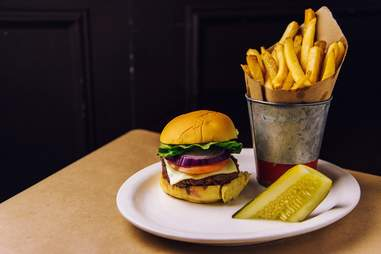 Hudson Malone, Hudson Malone burger