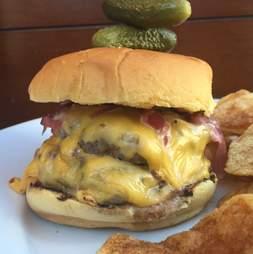 cheeseburger, burger, porter house new york