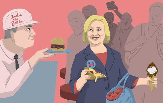 Hillary Clinton's Favorite Food & Drink in NY State, According to HRC Herself