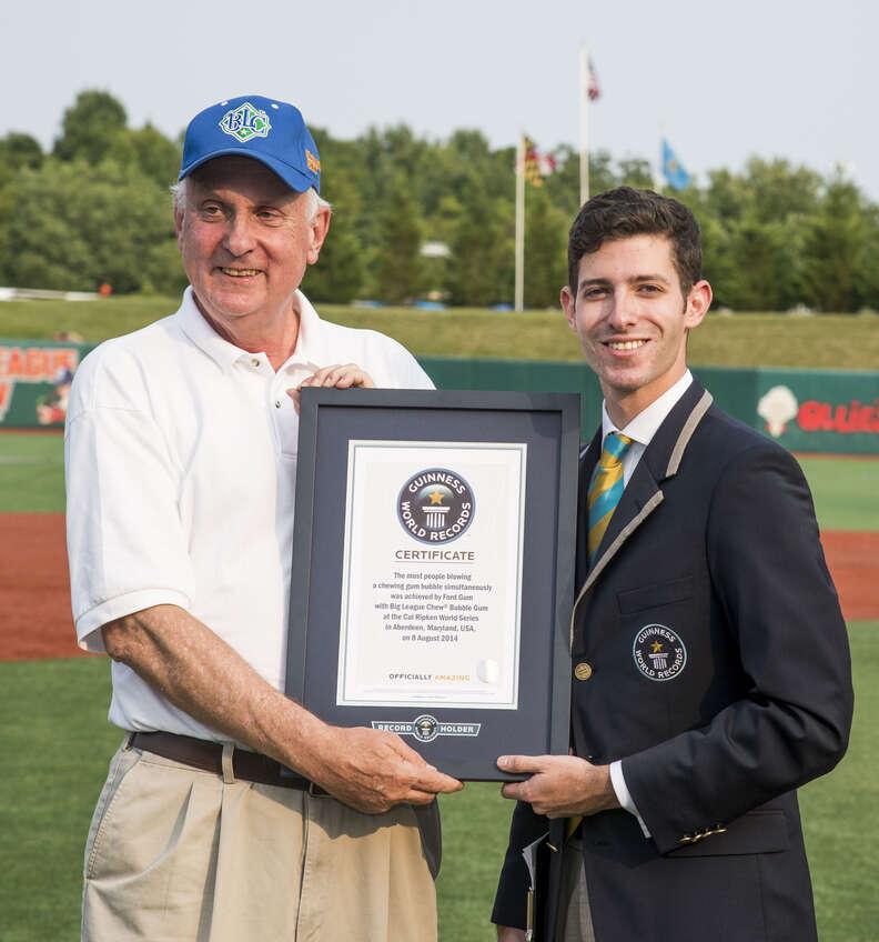 Big League Chew Guinness World Record