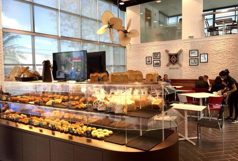 Bakery and Table Honolulu interior 2 floors thrillist