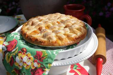 Betty's Pie Whole peach pie