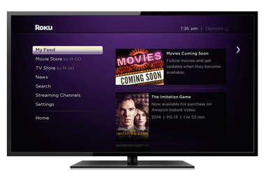 Roku My Feed feature