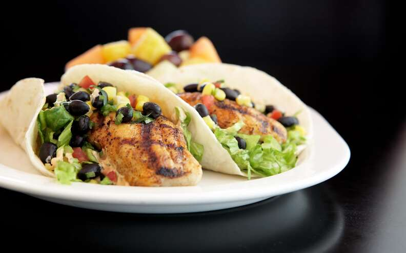 Marlow's Tavern, fish tacos