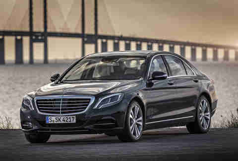 The Mercedes S550e pollutes less than a Tesla, per mile