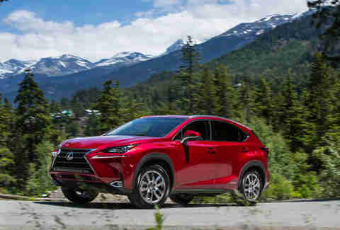 The Lexus NX 300h is the most efficient small SUV