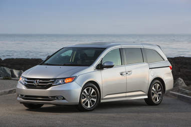 The Honda Odyssey is Reasonably efficient