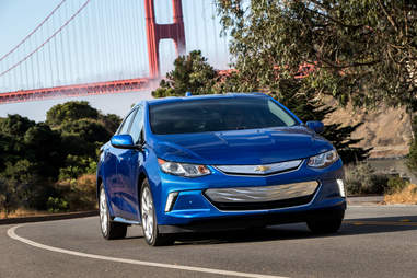 The Chevy Volt is the second most efficient vehicle you can buy today