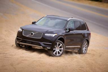 The Volvo XC90 Hybrid is loaded with tech, and better for the earth