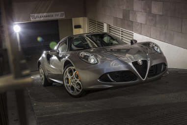 The Alfa Romeo 4C is actually kinda...green?