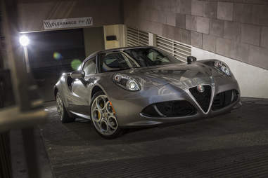 The Alfa Romeo 4C is actually kinda...green?