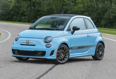 The Fiat Abarth is in the same Category as the California T
