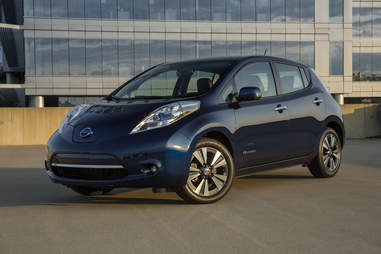 The Nissan Leaf retains impressive efficiency