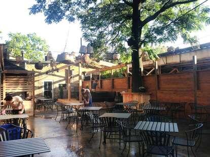 Homeslice Wheel House outdoor patio