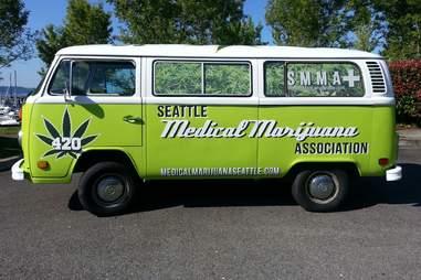 seattle weed van