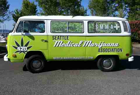 seattle weed van