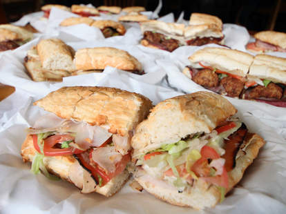 Potbelly sandwiches
