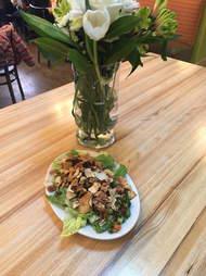fattoush salad, jerusalum garden
