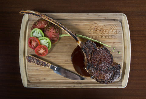 Halls Chophouse, steak
