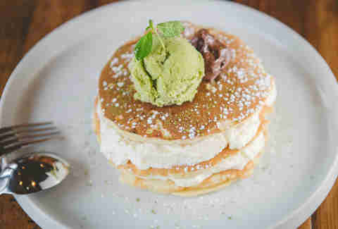 green tea pancakes chicago
