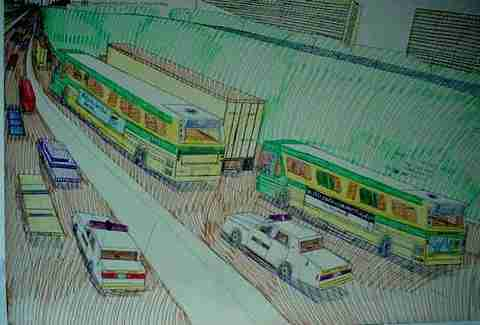 Wesley Willis art