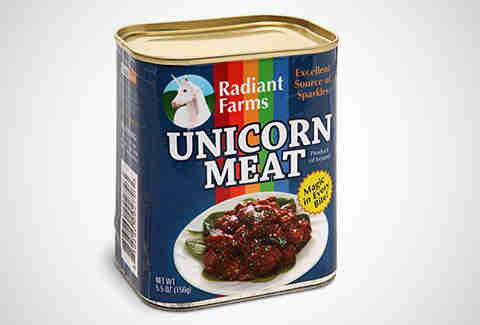 canned unicorn
