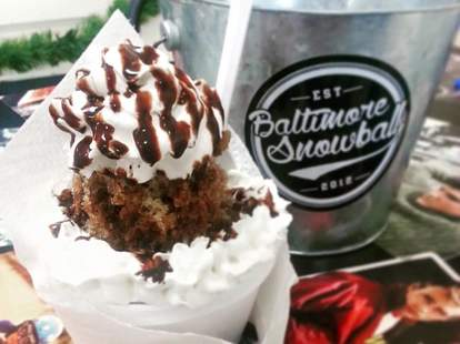 Ice Cream at Baltimore Snowball