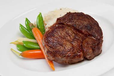 Donovan's Steakhouse, steak