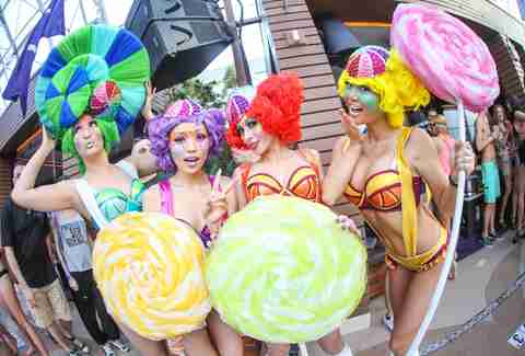 Electric Daisy Carnival partiers