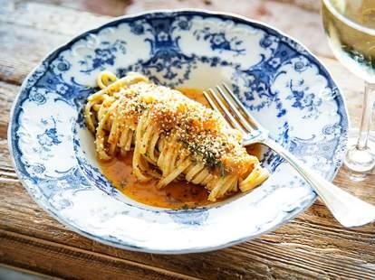 pasta dish at Maketto