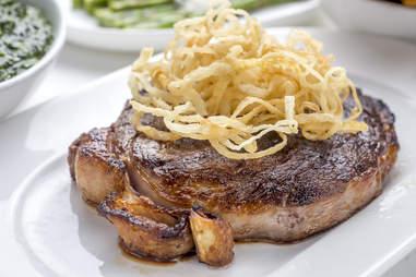 Delmonico's, steak