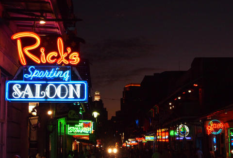 Rick's sporting saloon New Orleans