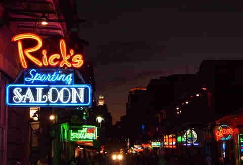 The best strip clubs in new orleans with photos thrillist ricks sporting saloon new orleans aloadofball Images