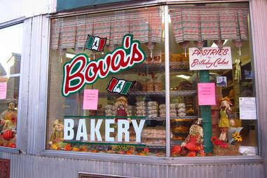 Bova's bakery in Boston